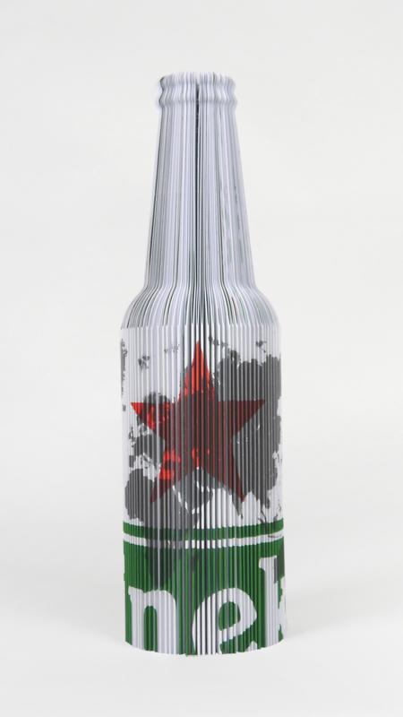 Heineken Bottle Book