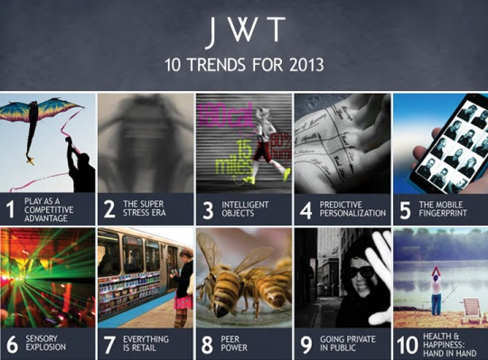 JWT 10 trends for 2013