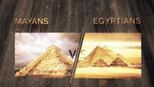 Mayans vs egyptians