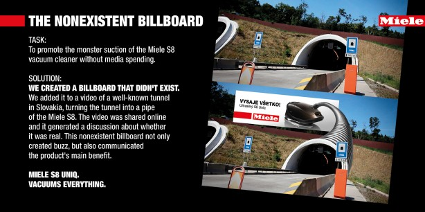 Miele vacuum cleaner tunnel
