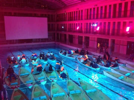Projection piscine Odyssee Pi