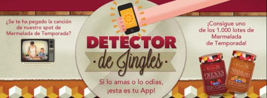 Detector de jingles