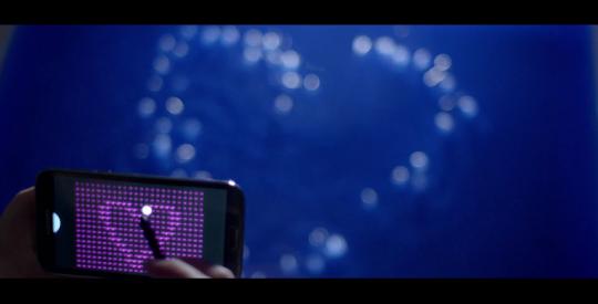 Galaxy Note II Liquid Pixels