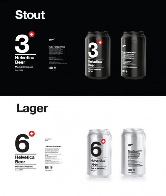 Helvetica Beer 2