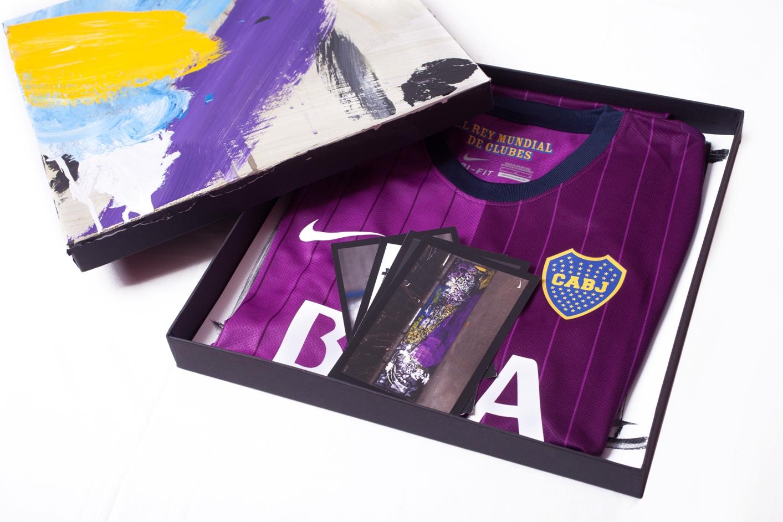 Boca juniors una pausa para la publicidad for Packaging ropa interior
