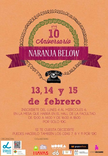 Naranja Below