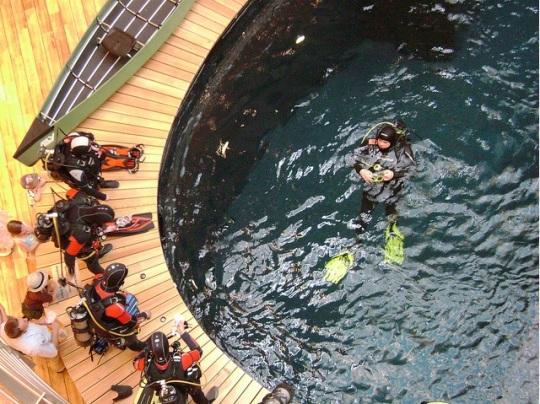 Globetrotter submarinismo