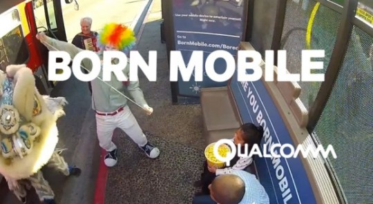 Qualcomm born mobile