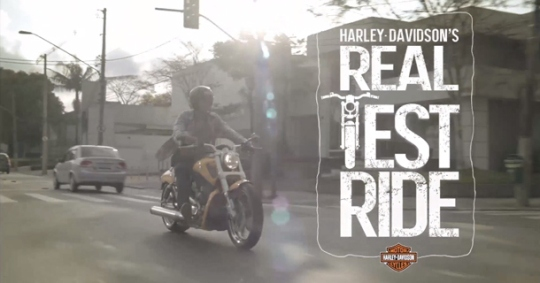 Harley Real test ride
