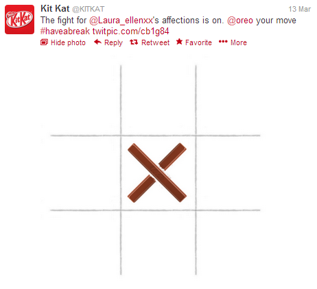 Kit Kat response