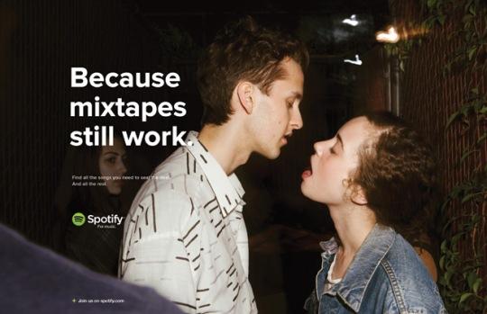 Spotify - Because mixtapes still work