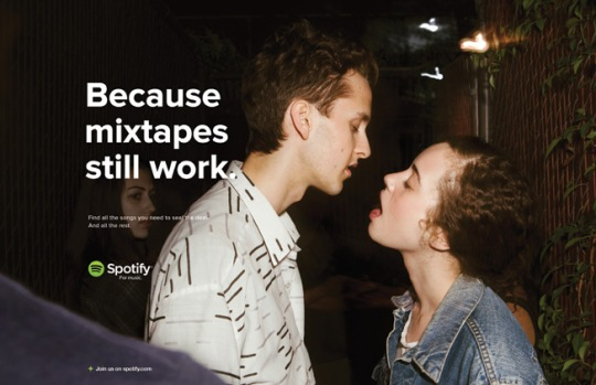 Spotify - Because mixtapes still work