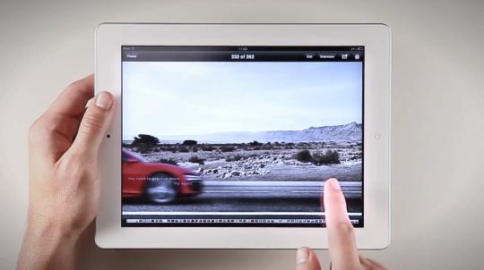 Audi R8 iPad