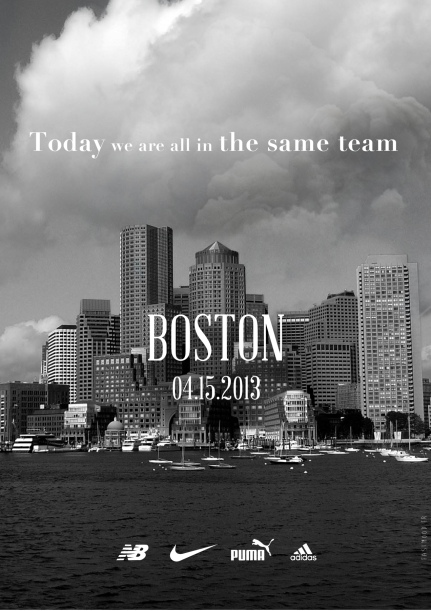 Boston 2013 - Never forget