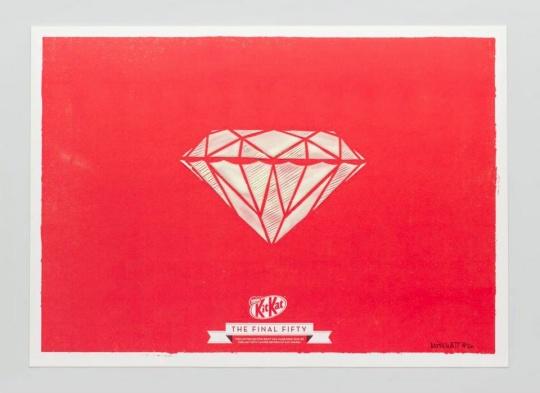 Kit Kat diamante