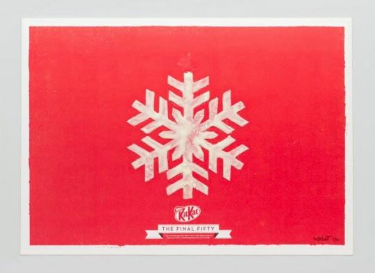 Kit Kat nieve