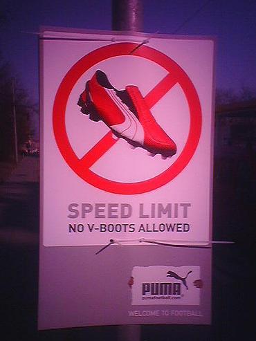 Puma street sign