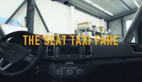 Seat taxi fare