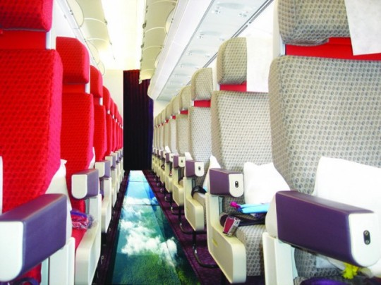 Virgin Atlantic Glass