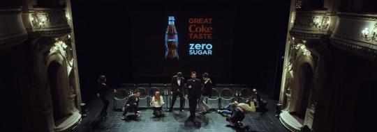 Coca Cola Zero hipnosis