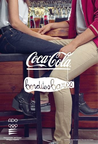 Coca Cola - Benditos bares