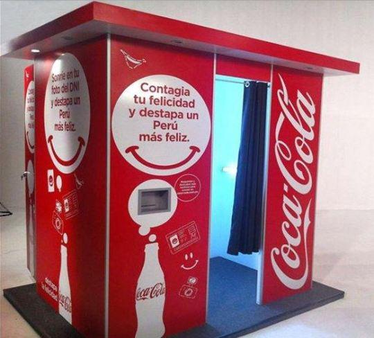 Fotomatón Coca Cola