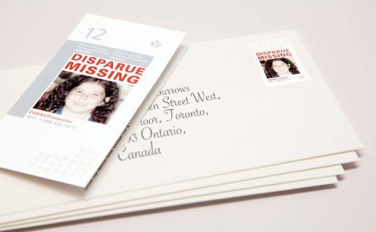 Missing Children stamps
