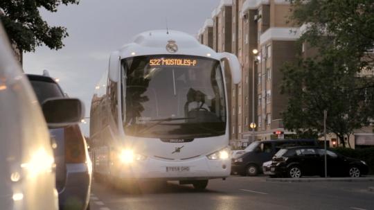 Nivea for Men - Bus del Real Madrid