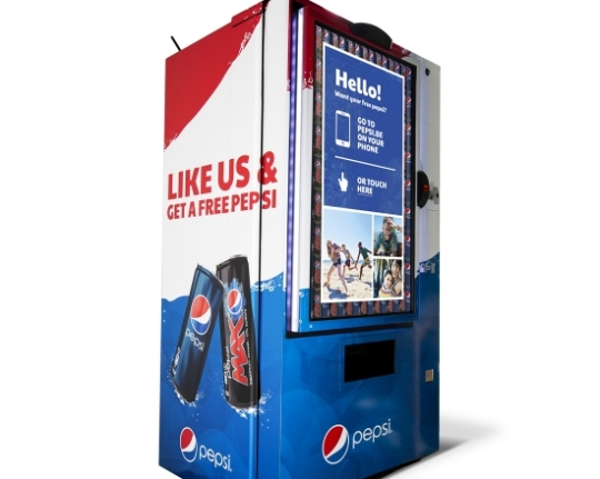 Pepsi like machine