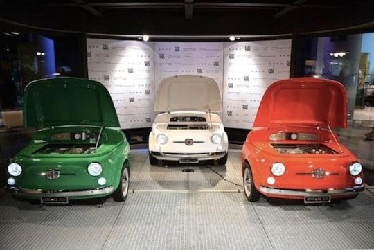 Fiat Smeg fridge