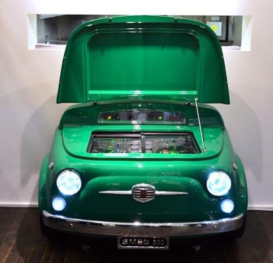 Fiat-Smeg fridge