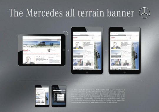Mercedes - All terrain banner