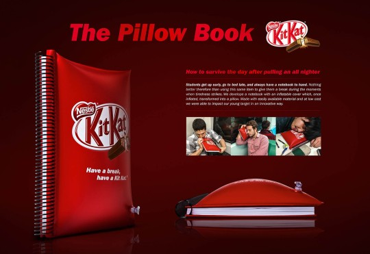 Kit Kat - The pillow book