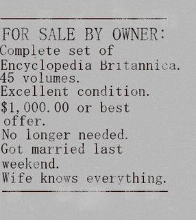 Enciclopedia a la venta