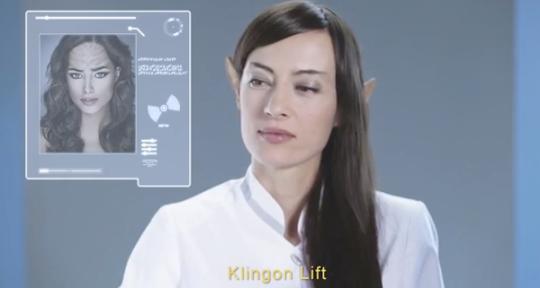 Klingon lift