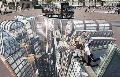 Renault mural gigante