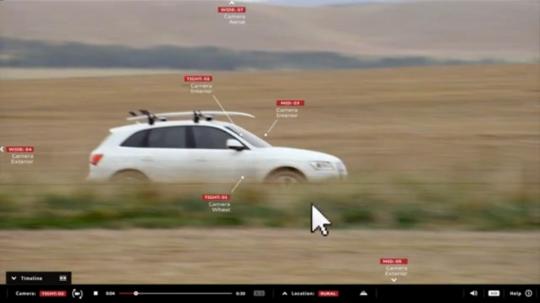 Audi drones
