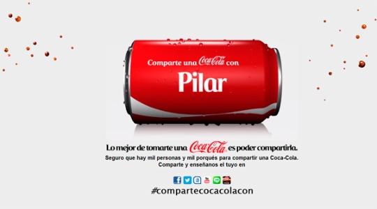 #comparteunacocacolacon