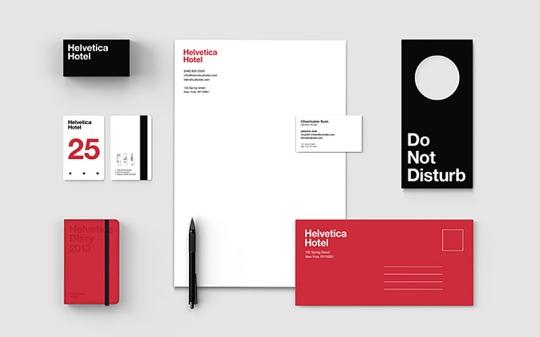 Helvetica paper