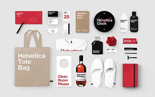 Helvetica stuff