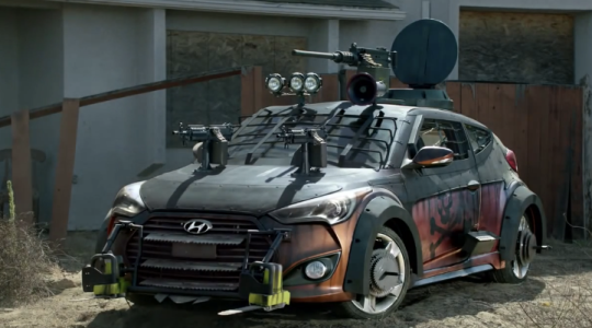 Hyundai walking dead