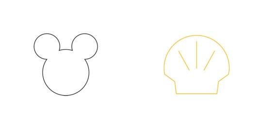 Minimalistic Disney Shell