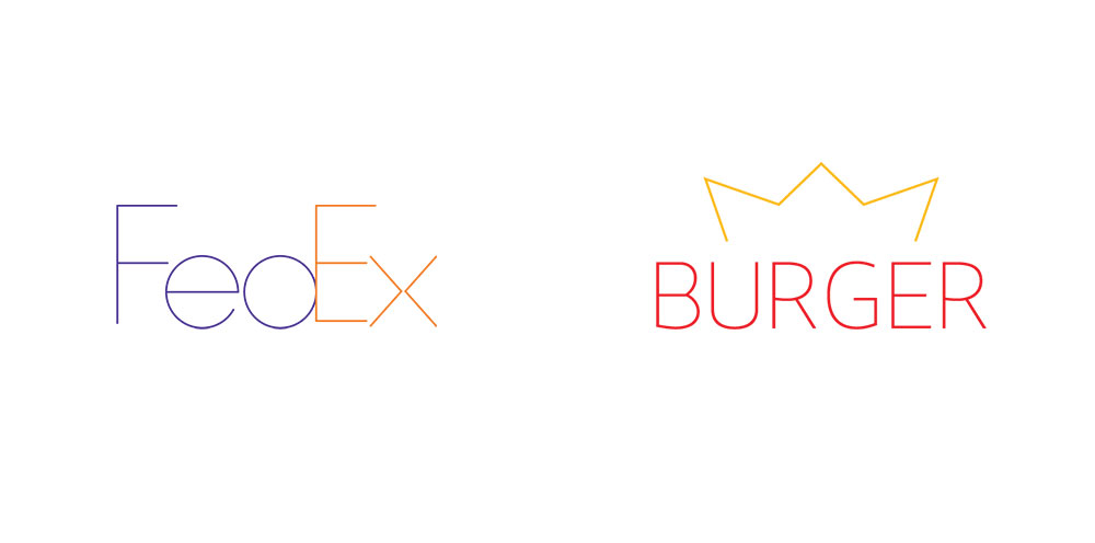 Logos Modernos Una Pausa Para La Publicidad