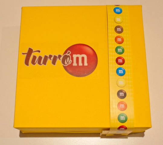 Turrón M&Ms