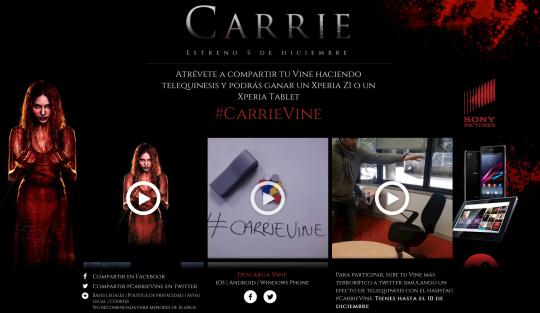 www.carrievine.es