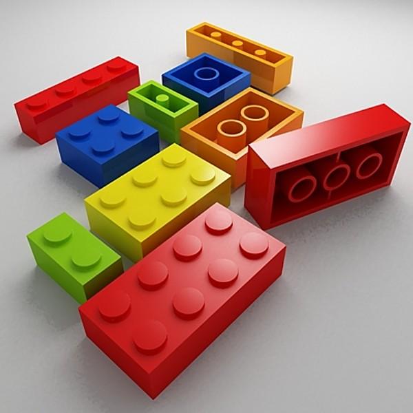 Lego una pausa para la publicidad - Piezas lego gigantes ...