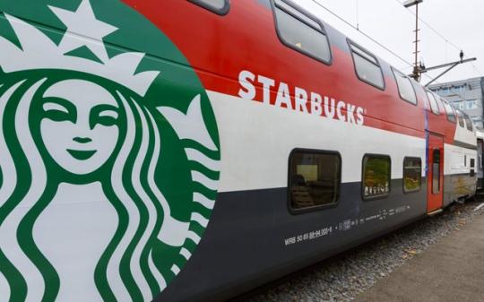 Vagón Starbucks