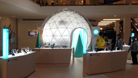 Google pop up store