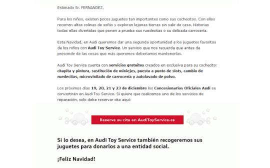 Atención al cliente Audi