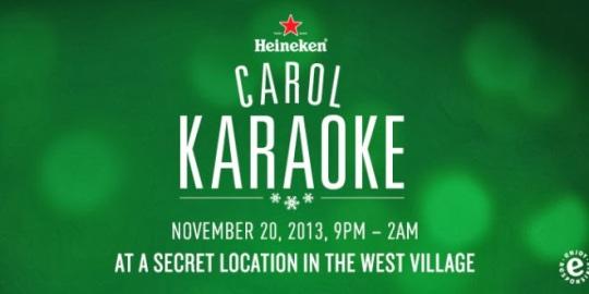 Heineken karaoke